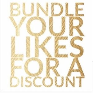 BUNDLE YOUR LIKES FOR A SPECIAL DISCOUNTED OFFER